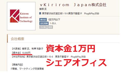 資本金1万円