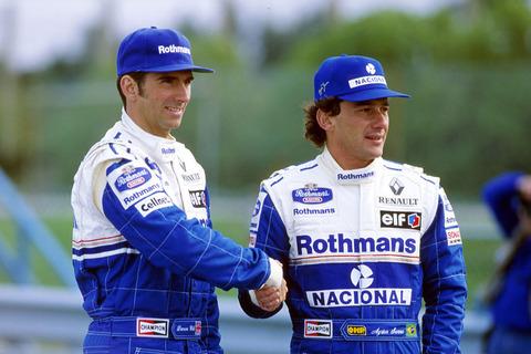 Ayrton Senna Rothmans Car Wallpaper 【f1】デイモン・ヒル ドライブまとめ
