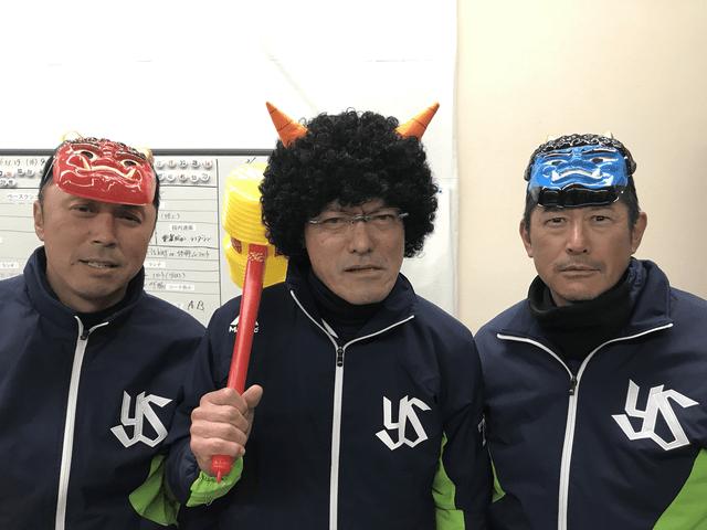 石井琢朗河田雄祐コーチ鬼