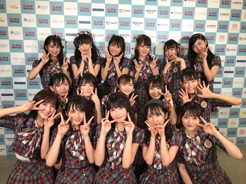 【悲報】AKB48G、@JAM EXPOのセットリストが被りまくる