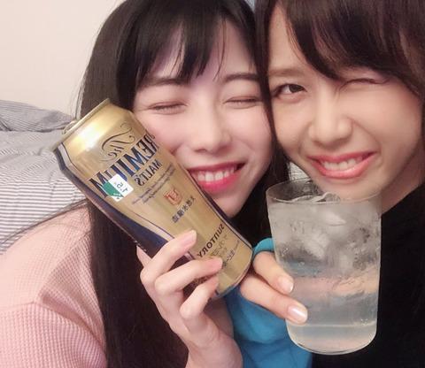 【AKB48】酔っぱらって配信してる横山由依が超可愛いんだが【必見】