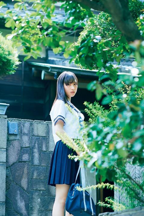【朗報】セーラ服のゅぃゅぃのゅぃゅぃが(*´Д`)ハァハァ【AKB48・小栗有以】