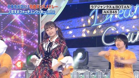 【AKB48】24時間テレビ観てたら中井りかのゴリ推しが常軌を逸してた