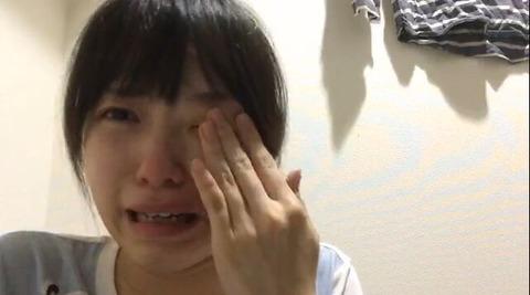 【AKB48G】SHOWROOM配信中に泣くやつマジなんなん???