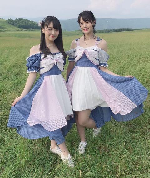 【STU48】瀧野由美子と石田千穂そろそろどっちが良いか決着つけるべきだと思う!