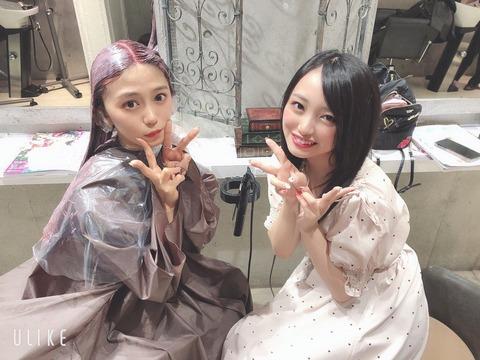 【AKB48】向井地美音、あのアイドルと連絡先を交換【みーおん】