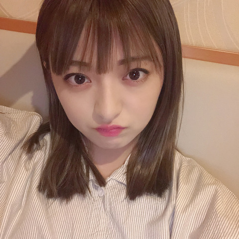 【AKB48】エクステ着けた佐藤七海が可愛いと話題に【チーム8】