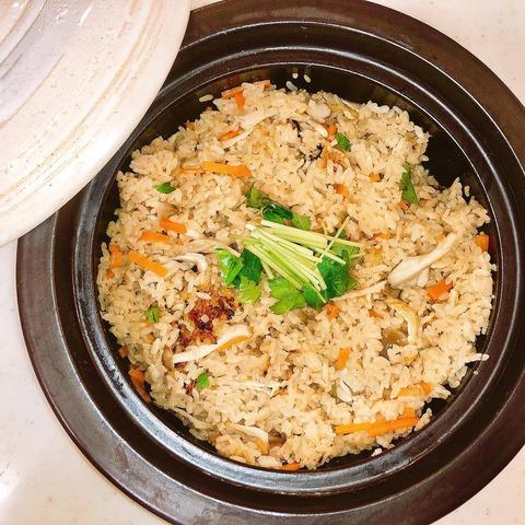 【AKB48】清水麻璃亜が土鍋で作ったきのこの炊き込みご飯がとても美味しそう