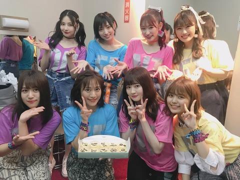 【#Queentet】SKE48福士奈央「SKEではめったに聞くことがない、女性ファンの方の歓声にびっくりしました?笑」