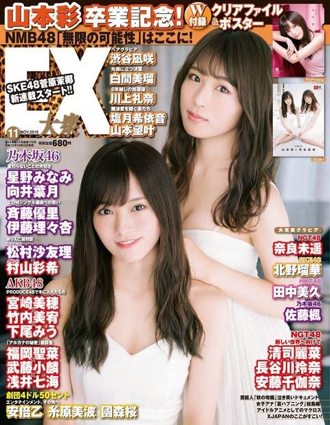 【朗報】NMB48山本彩さんの雑誌ラッシュが止まらないwwwwww