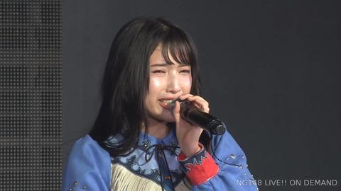 【NGT48】佐藤杏樹、劇場公演にて卒業発表