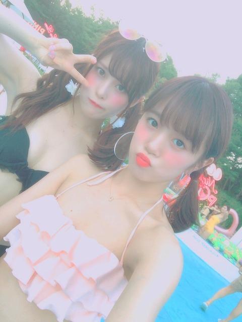 【AKB48】田北香世子の水着キタ━━━(゚∀゚)━━━!!(雅もあるよ)