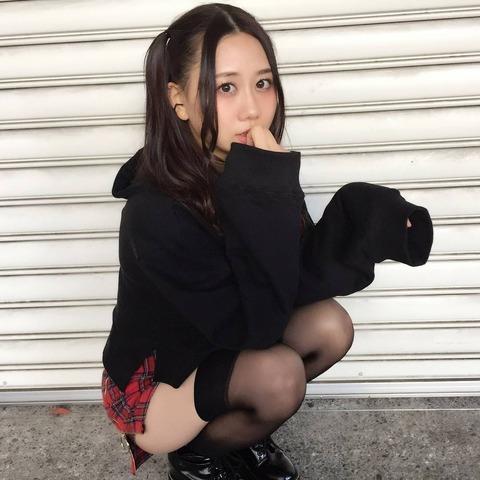 【SKE48】古畑奈和の私服がエロいwwwwww