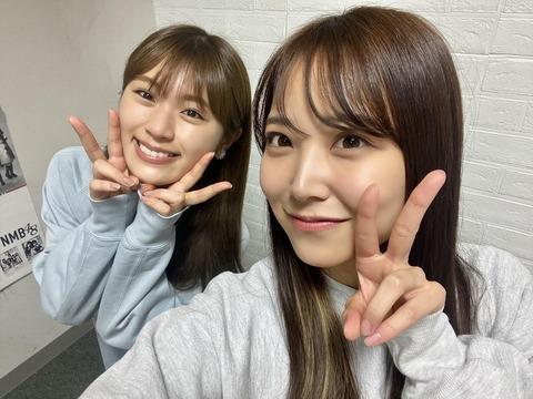 【NMB48】リレー連載「みるみる道場」白間美瑠と渋谷凪咲が対談