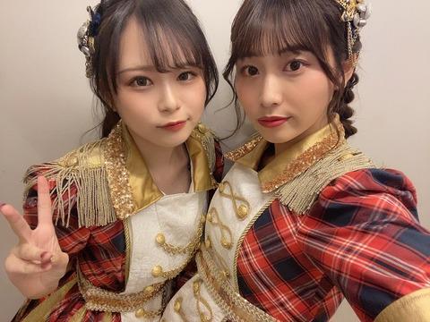 【SKE48】竹内ななみvs青海ひな乃 抗争勃発か