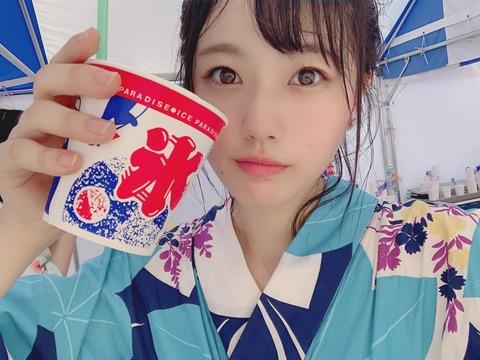 【STU48】瀧野由美子「半年くらい呑んでない」
