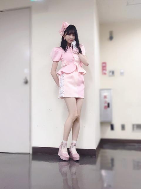 【NMB48】横野すみれが渡辺美優紀の「優しくするよりキスをして」の衣裳を借りた結果w【みるきー】