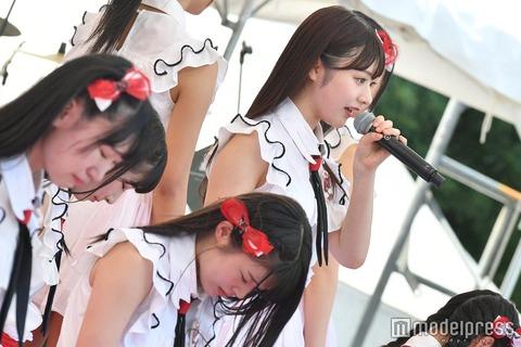 【画像】NGT48研究生、TIFのステージで号泣き・・・