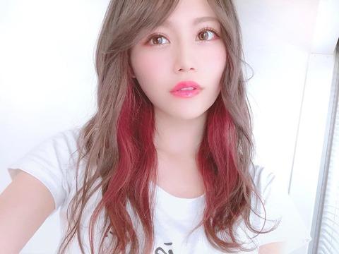 【AKB48】込山榛香の新しい髪色がおしゃれ!【こみはる】