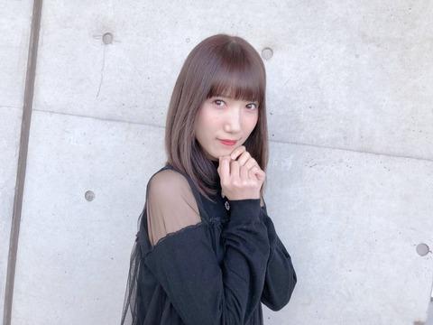 【HKT48】田中菜津美「今日はれなっちさんからもらったおさがりのお洋服、スケスケえろみかんですね」