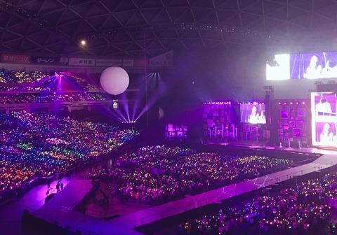上半期ライブ動員数、女性アイドル部門でHKT48が2位、AKB48が4位と躍進