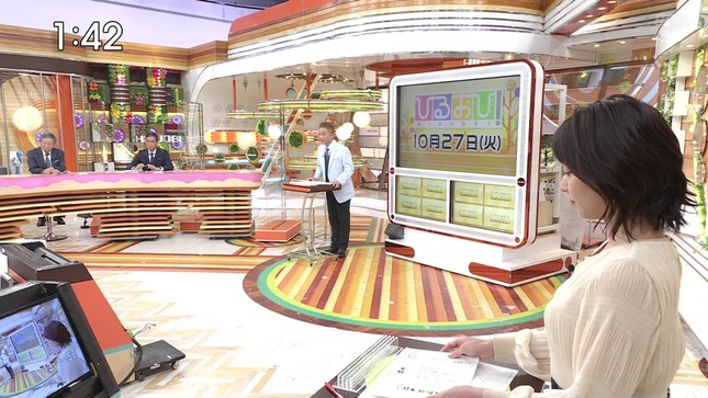 出水麻衣 ひるおび! TBSニュース 8