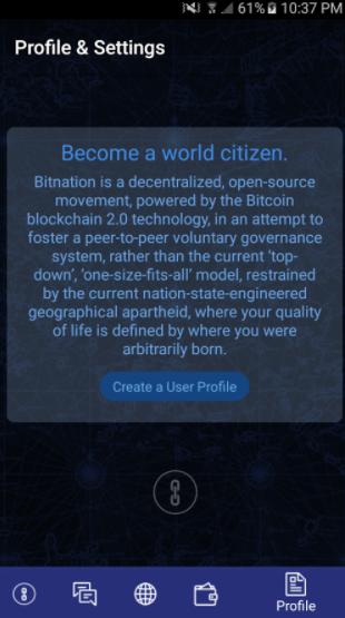 Bitnation:最初のMVPが登場、グーグルプレイでダウンロードし国家の作成が可能