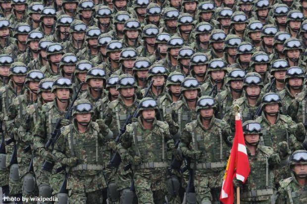 平成22年度観閲式(H22_Parade_of_Self-Defense_Force)_(10219399286)