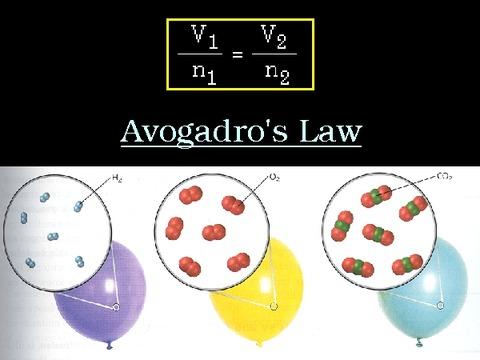 アボガドロの法則