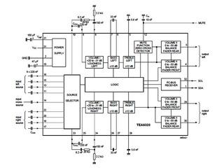 デジットBlog:NXP サウンドフェーダーコントロールIC「TEA6320T」