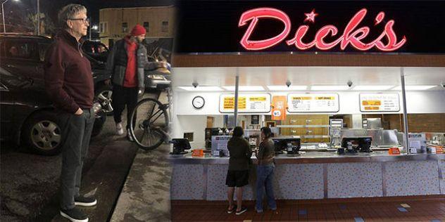 「ビルゲイツでさえハンバーガーの列」の画像検索結果