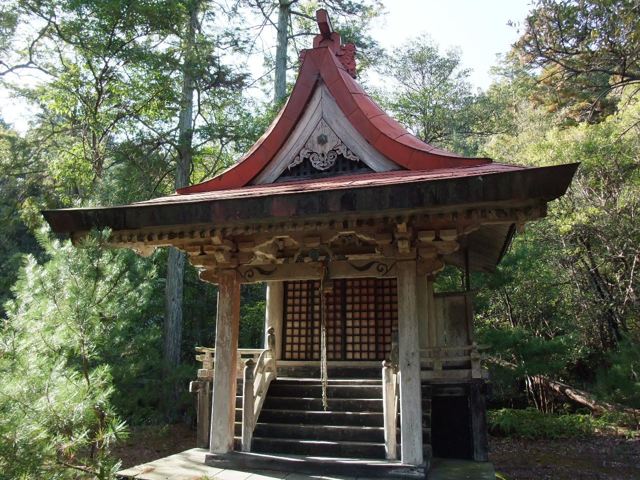 和 の 建 築 美 - いにしえ探訪 - [ 本 館 ] : 龍 泉 寺 弁 天 堂