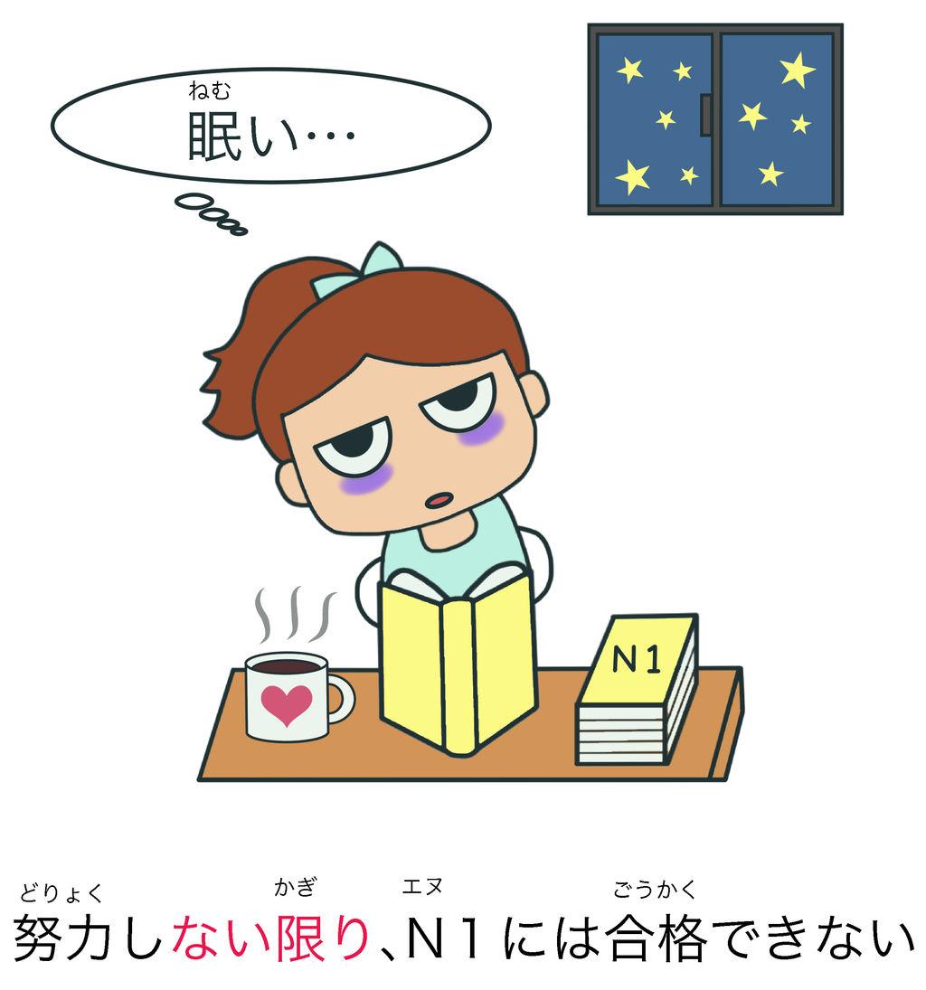 〜ない限り(は) 日本語能力試験 JLPT N2 : 絵でわかる日本語