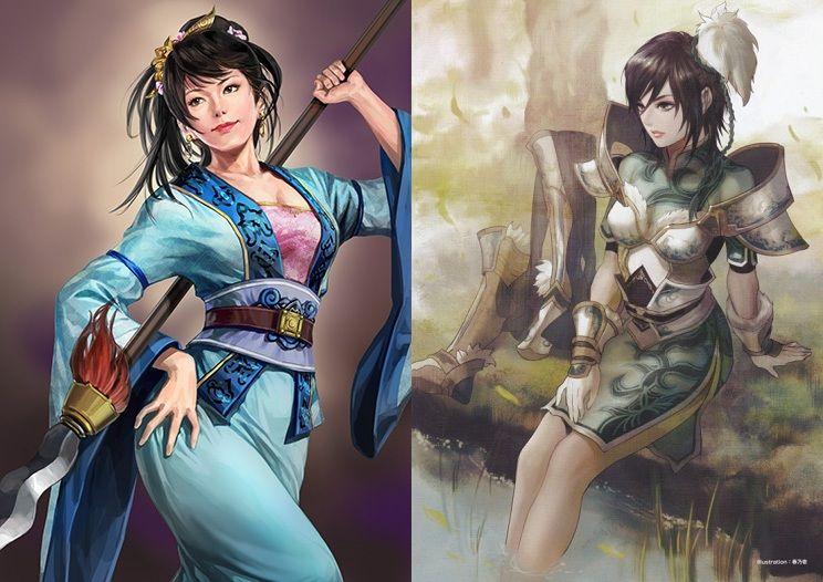 ゲームの畫像まとめブログ : 三國志12と真・三國無雙6の武將の比較畫像