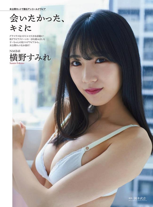 横野すみれ グラビア (5)
