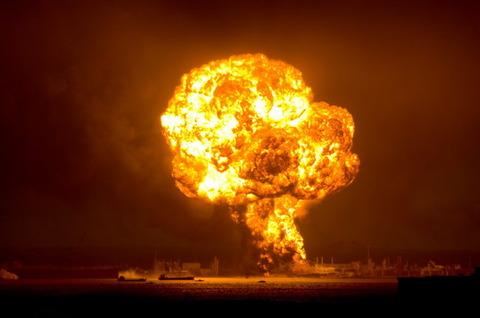水素自動車が爆発