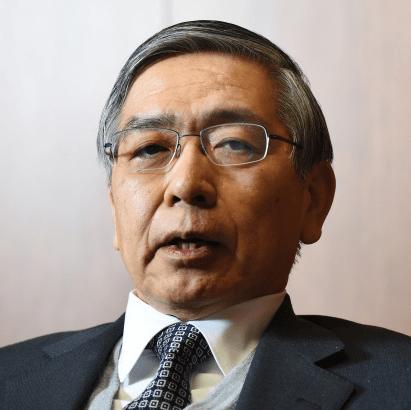 日本銀行の黒田日銀総裁