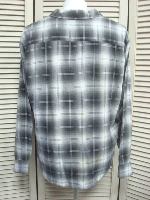 GASOLINE DIARY : PENNEY'S TOWNCRAFT Shadow Check(hombre check) Rayon Long Sleeve Shirts