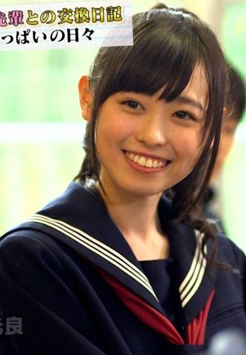 制服姿の福原遥(15)ちゃんが可愛すぎていろんな妄想捗る【エロ画像】
