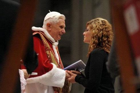 「プーチン大統領とローマ教皇が會談」 この畫像はヤバイwwwwwwwwwwww - ゴールデンタイムズ