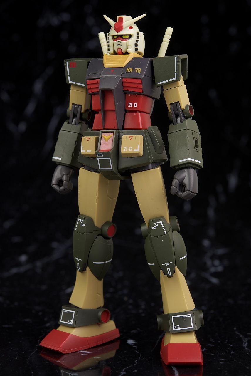 ROBOT魂 RX-78-2 ガンダム ver. A.N.I.M.E. 劇場ポスター リアルタイプカラー レビュー : はっちゃか
