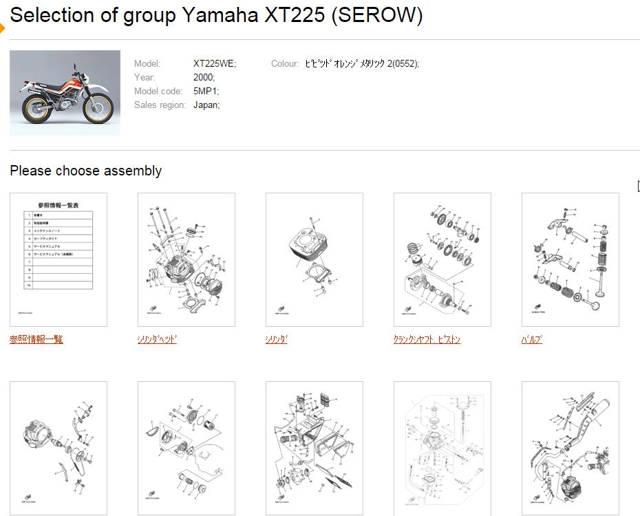 バイクのパーツリストをネットで見る方法『MegaZip』 : コノログ