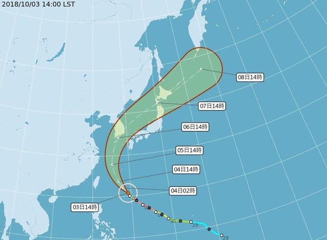 臺風25號,日本に直撃するも関西・中部・関東方面を神回避するコースへ → あの超大物アーティストの ...