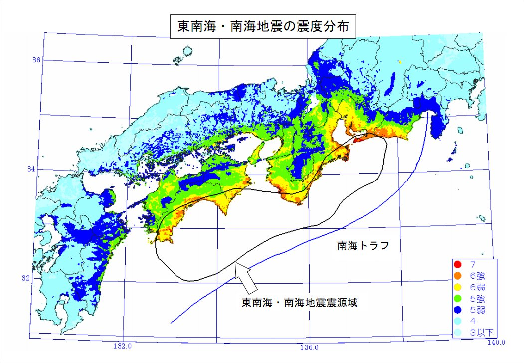 東南海・南海地震が東日本大震災と同じM9.0だったら津波が淀川をさかのぼって枚方も浸水被害がでるらしい ...