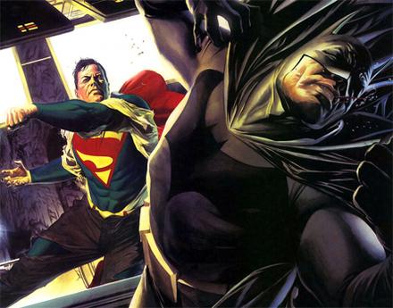 スーパーマンVSバットマン