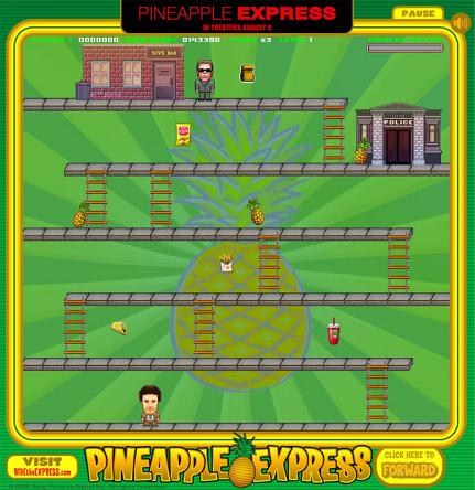 パイナップル・エクスプレス-ゲーム