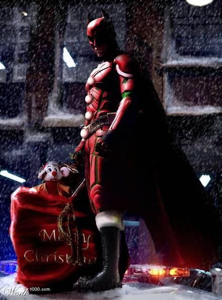ダークナイト-バットマン-クリスマス