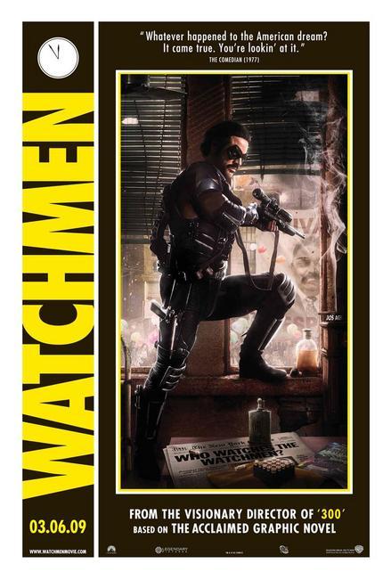ウォッチメン-コメディアン-ポスター