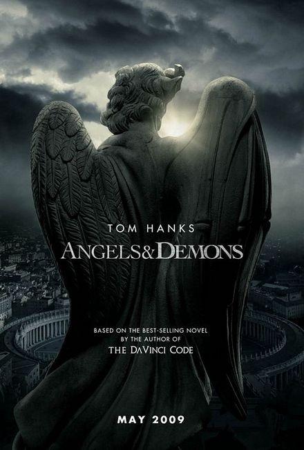 天使と悪魔-フェイク・ポスター