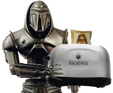 バトルスター・ギャラクティカ-サイロン-トースター